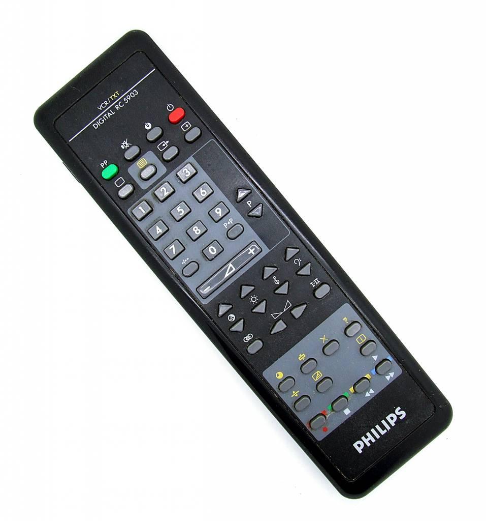 Philips Original Philips Fernbedienung VCR/TXT Digital RC 5903 remote control