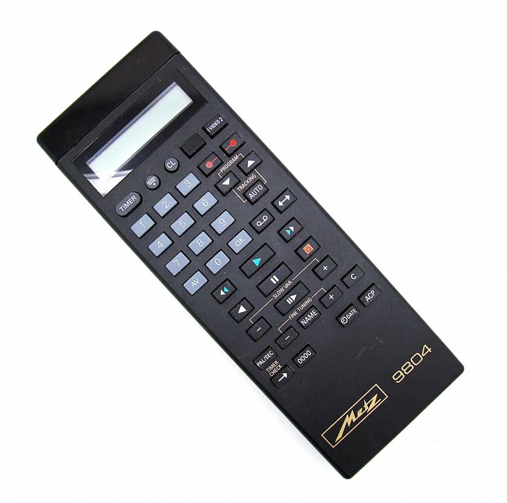 Original Metz Fernbedienung 9804 Videorekorder remote control