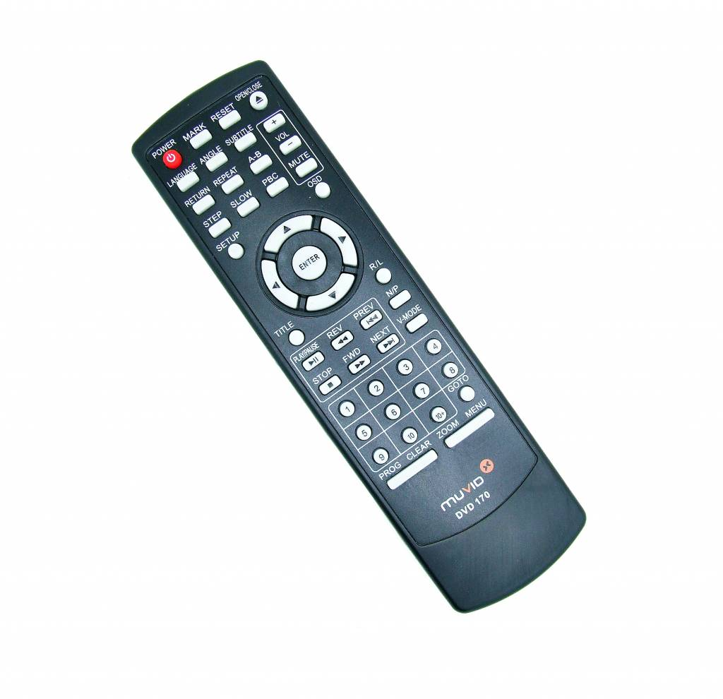 Original Muvid DVD 170 remote control