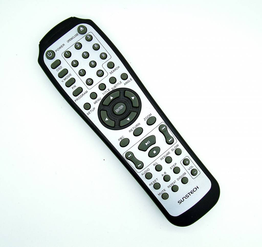 Original Sunstech Fernbedienung TV,DVD remote control
