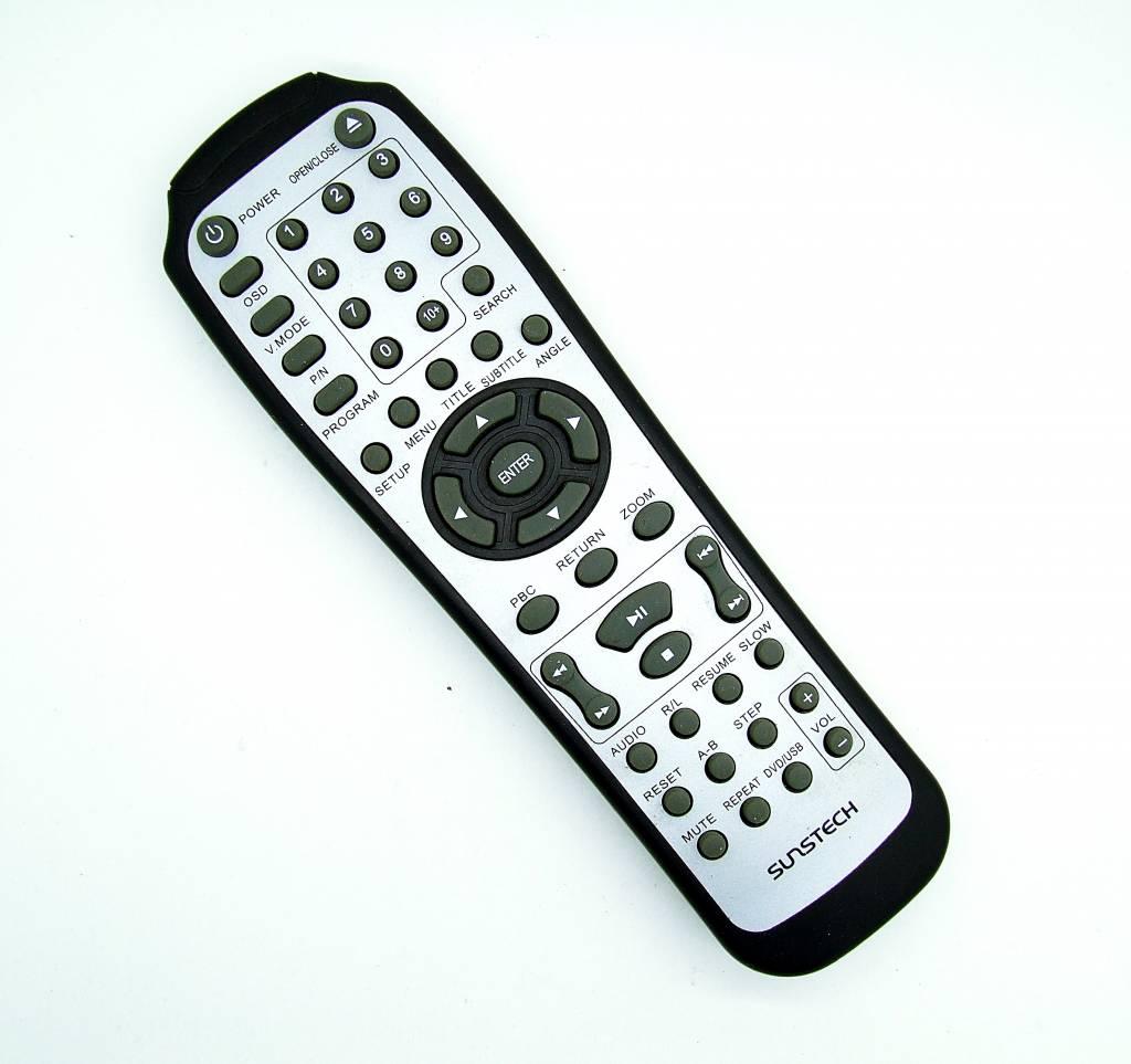 Original Sunstech TV,DVD remote control