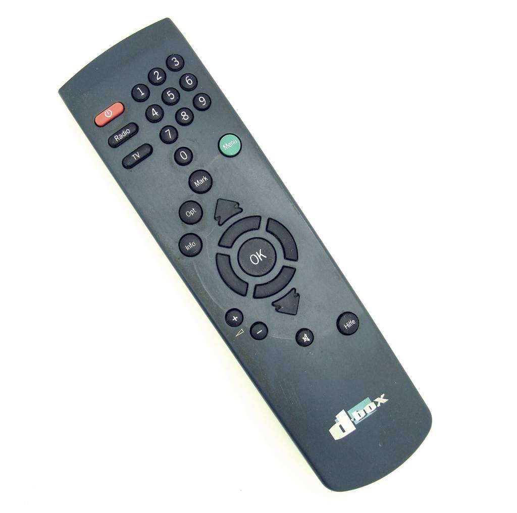 Original remote control for d-box 2625838-01 SAT,TV