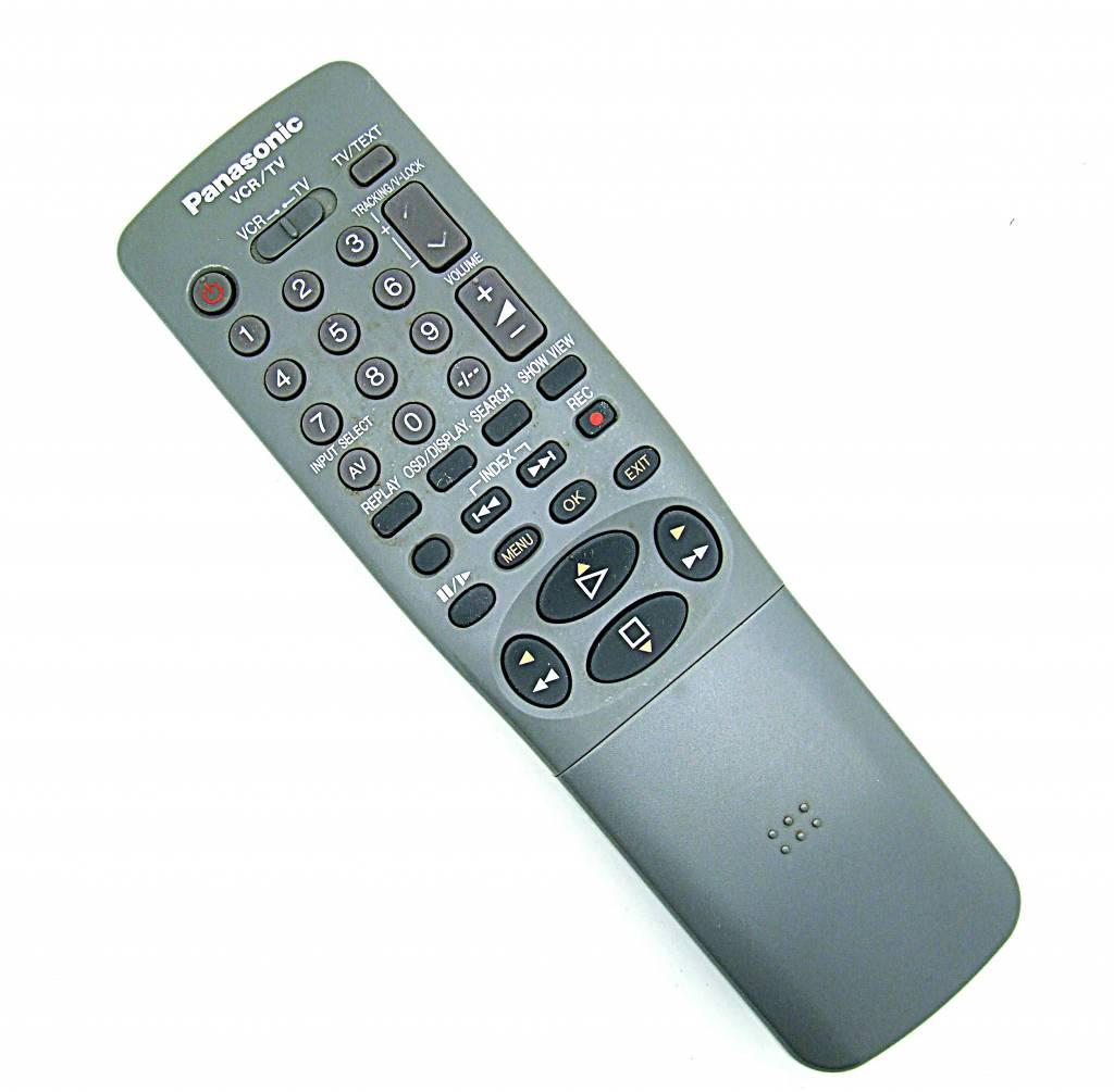 Panasonic Original Panasonic remote control EUR571739 VCR/TV