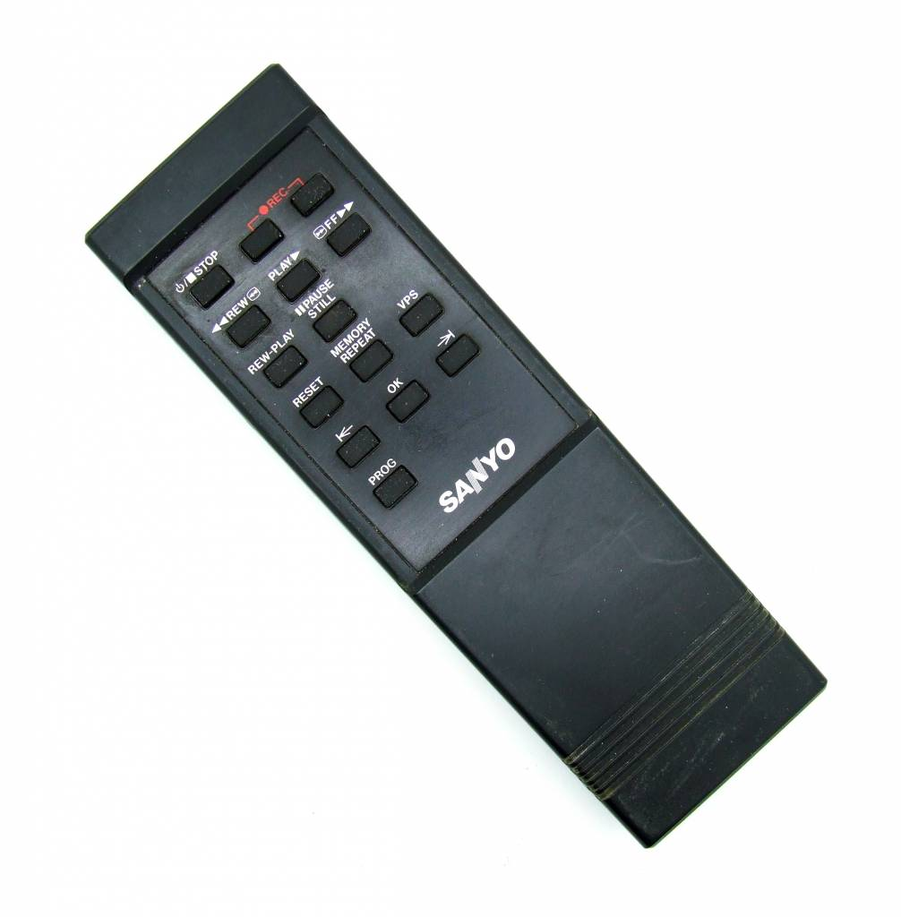 Sanyo Original Sanyo Fernbedienung 941E Videorekorder remote control