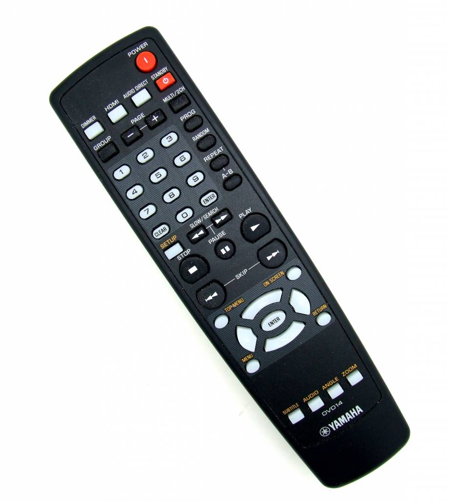 Yamaha Original Yamaha DVD14 HDMI remote control