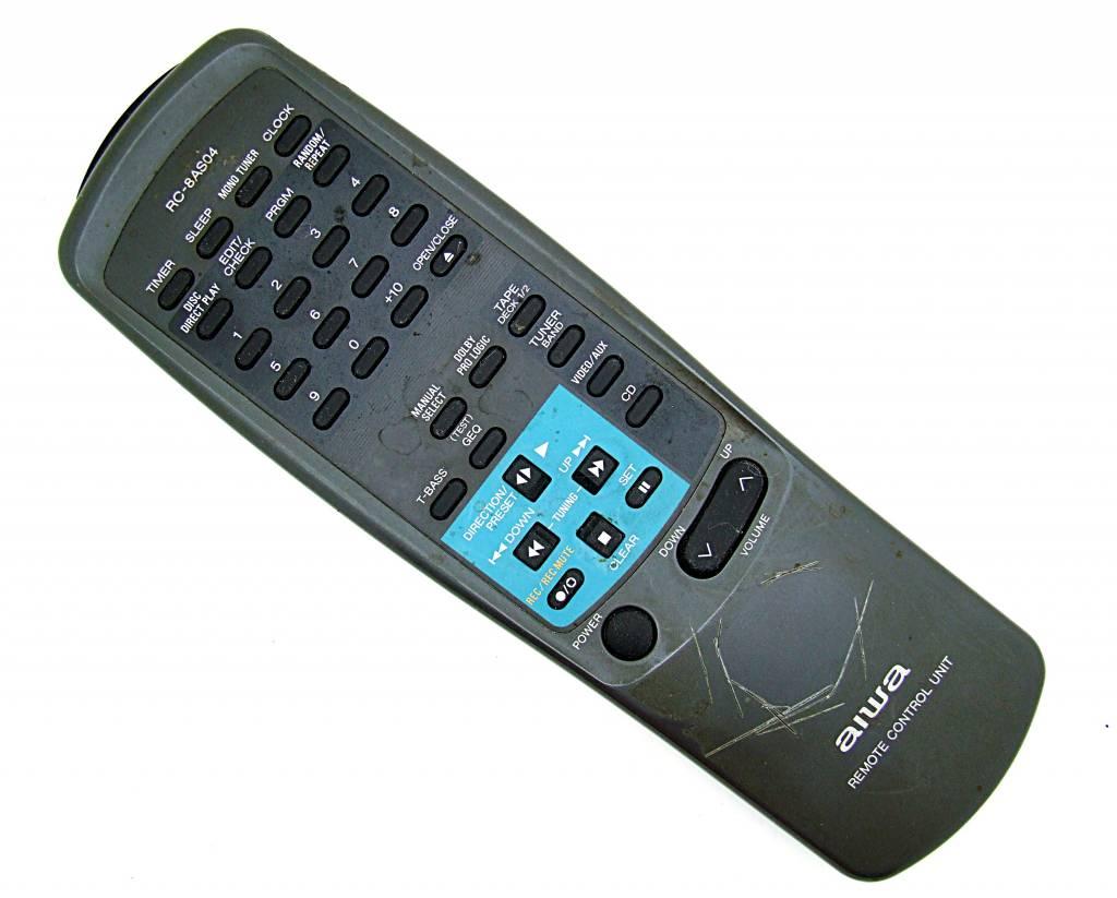 Aiwa Original Aiwa Fernbedienung RC-8AS04 HiFi remote control