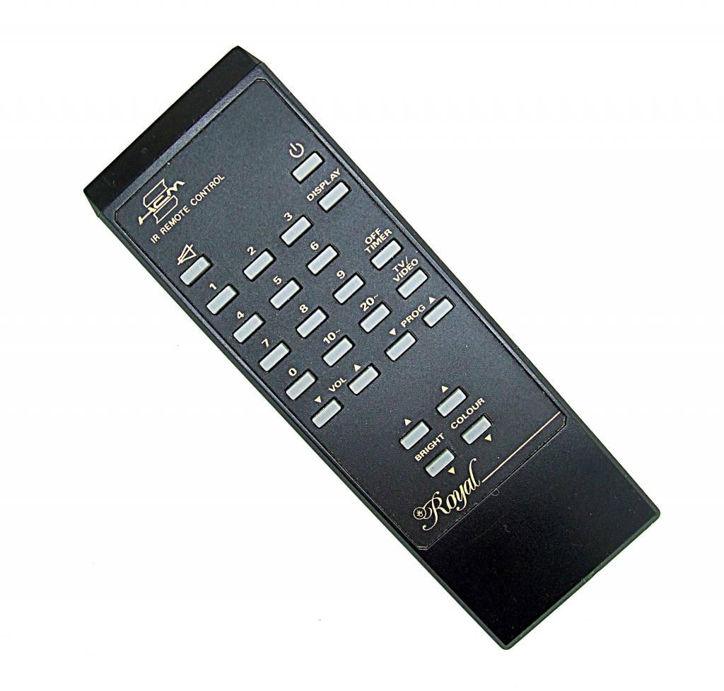 Original HCM Royal TV/Video remote control