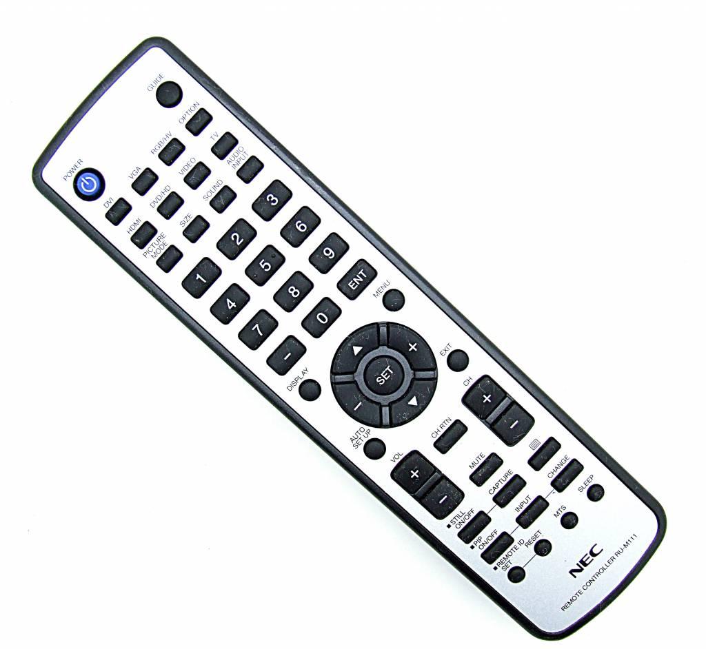 NEC Original NEC RU-M111 Video,TV,DVD,HDMI remote control