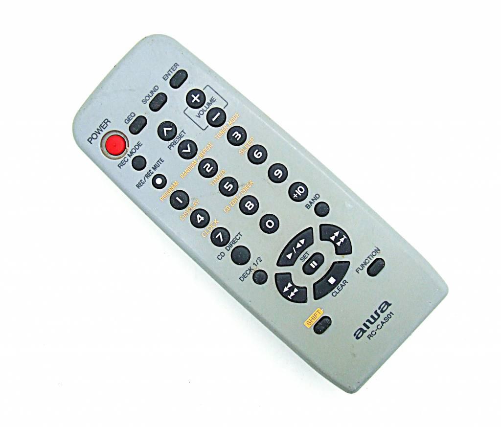 Aiwa Original Aiwa Fernbedienung RC-CAS01 für CD-Player remote control