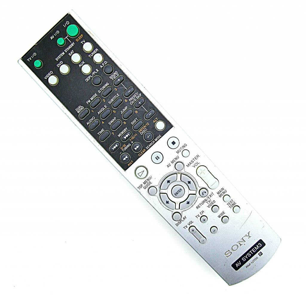 Sony Original Sony Fernbedienung RM-U700 AV System3 Video,DVD,SAT,TV remote control