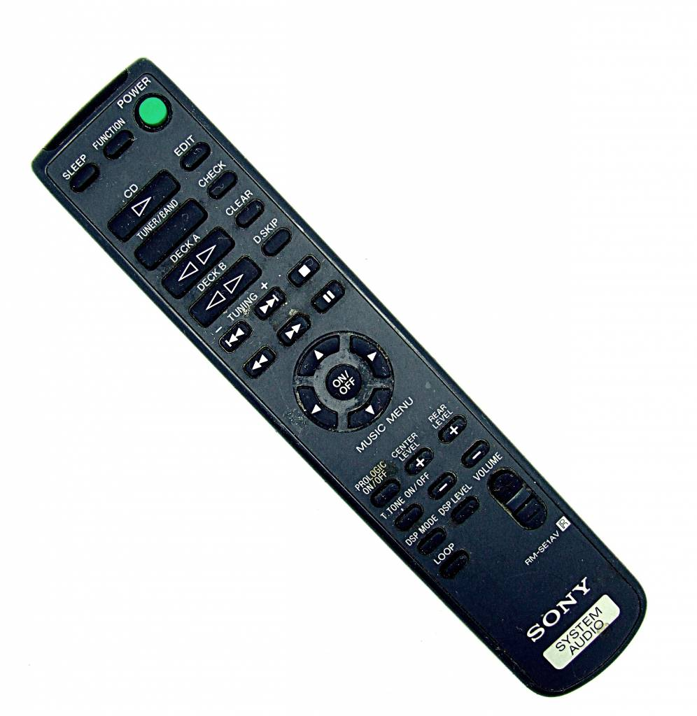 Sony Original Sony Fernbedienung RM-SE1AV System Audio CD remote control