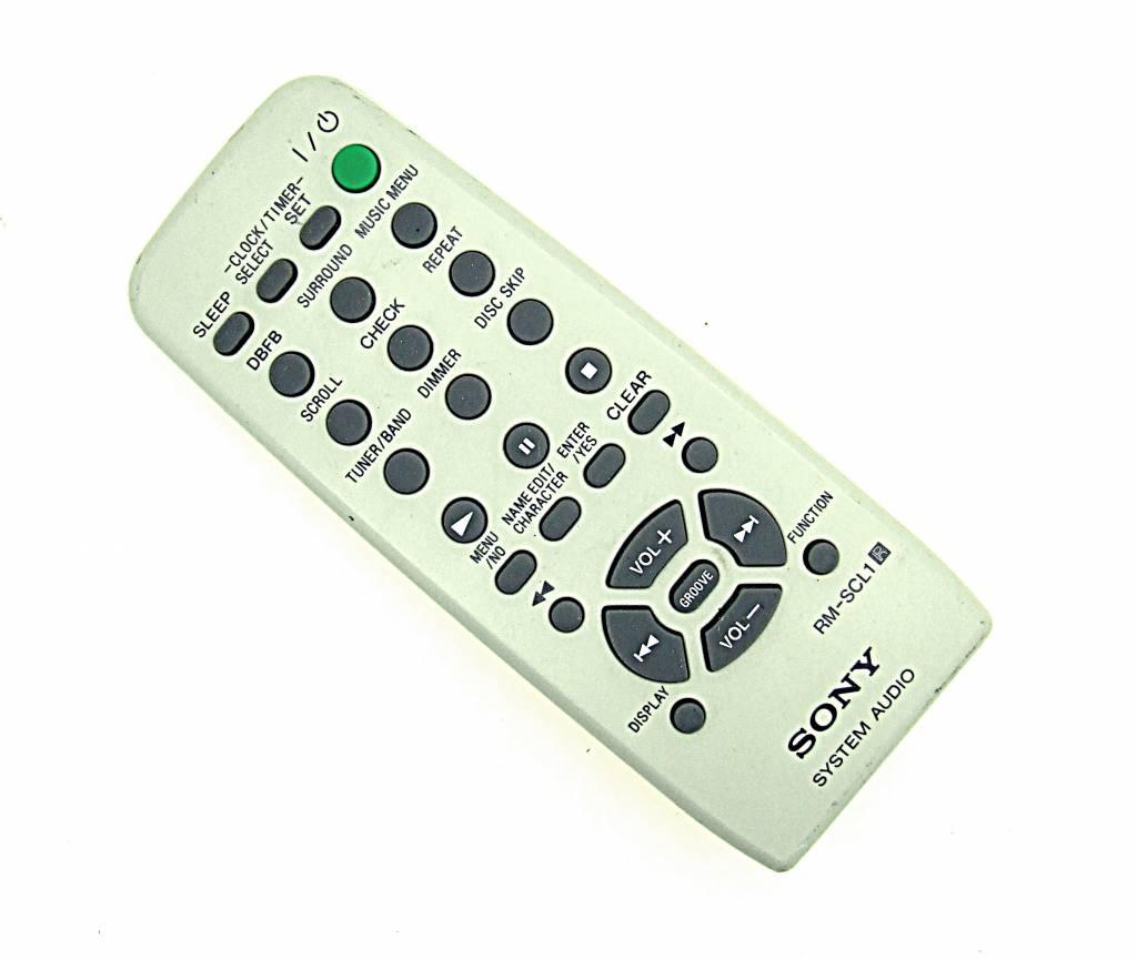 Sony Original Sony Fernbedienung RM-SCL1 System Audio HiFi Player remote control