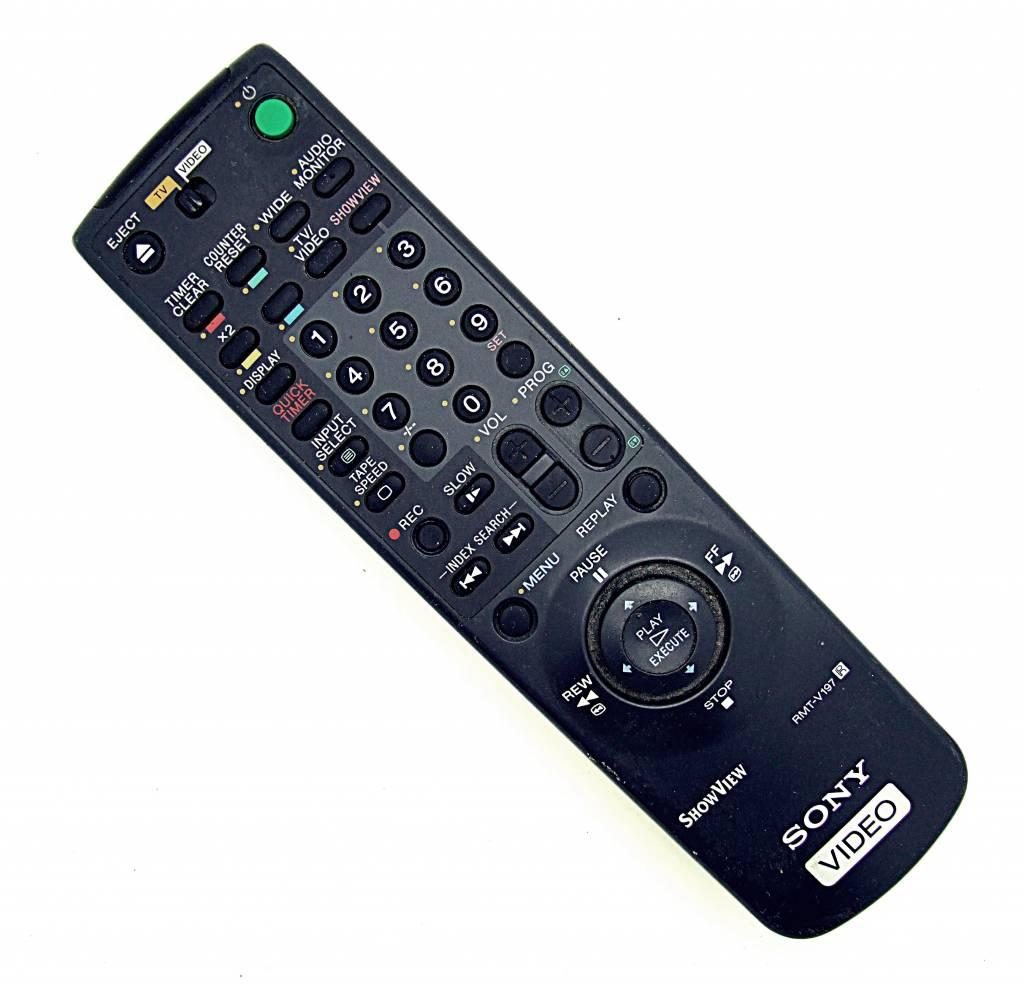Sony Original Sony Fernbedienung RMT-V197 Videorekorder, TV remote control