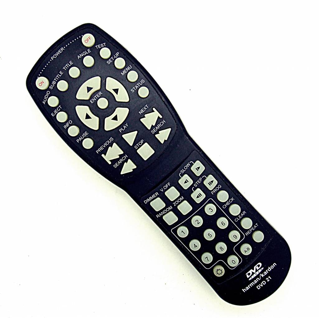 Harman/Kardon Original Harman/Kardon DVD21 remote control