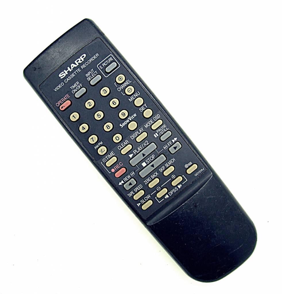 Sharp Original Sharp Fernbedienung G0131AJ Videorekorder remote control
