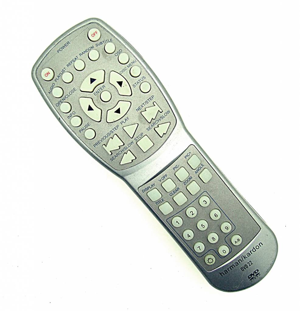Harman/Kardon Original harman/kardon Fernbedienung DVD22 für DVD-Player remote control
