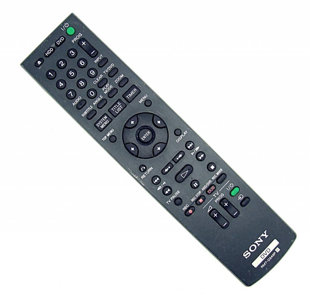 Sony Original Sony Fernbedienung RMT-D249P DVD remote control