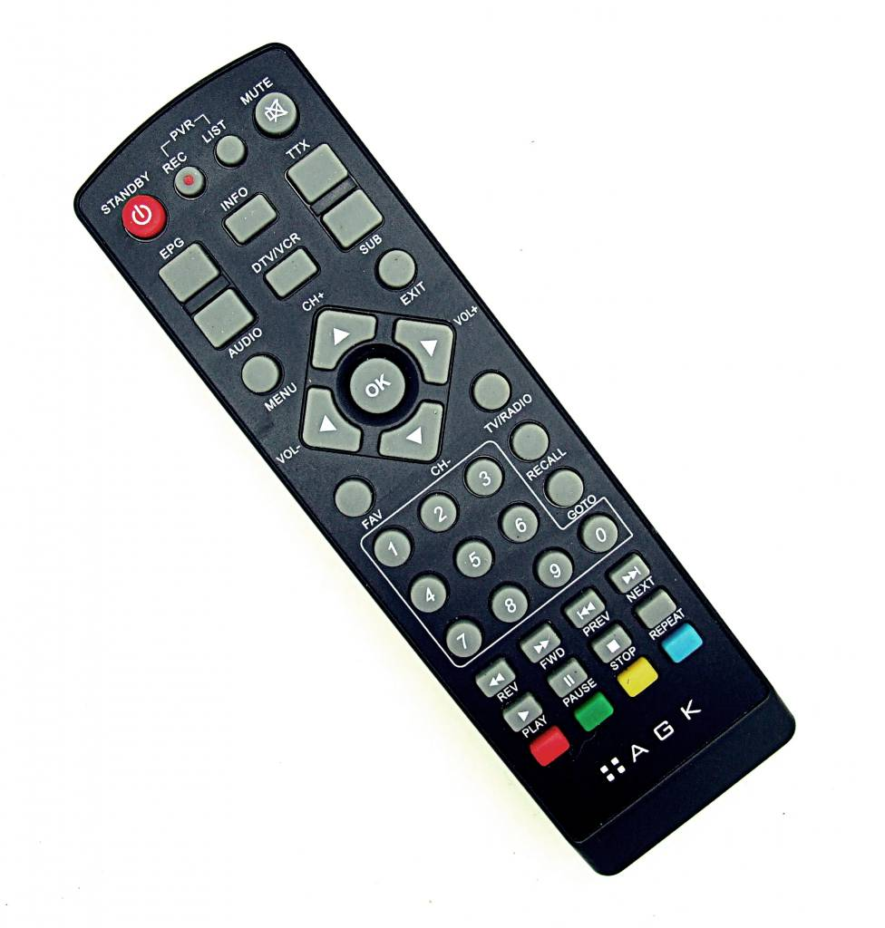 Original AGK TV,DTV,VCR Universal remote control