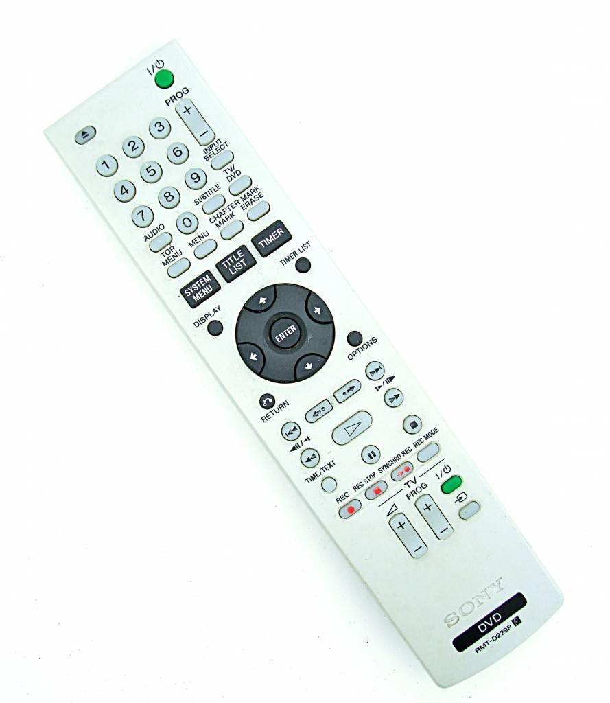Sony Original Sony RMT-D229P DVD remote control