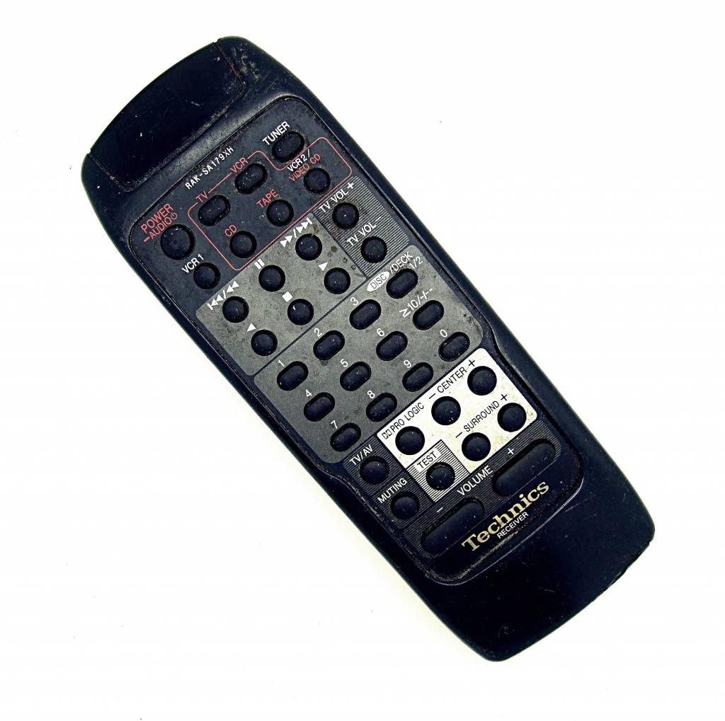 Technics Original Technics Fernbedienung RAK-SA179XH TV,VCR,CD,Tape remote control