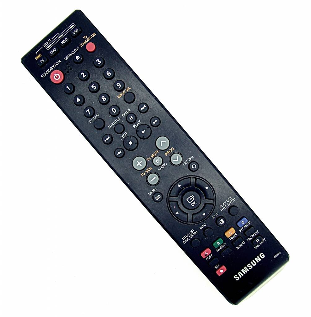 Samsung Original Samsung 00084B TV,DVD,HDD,USB remote control