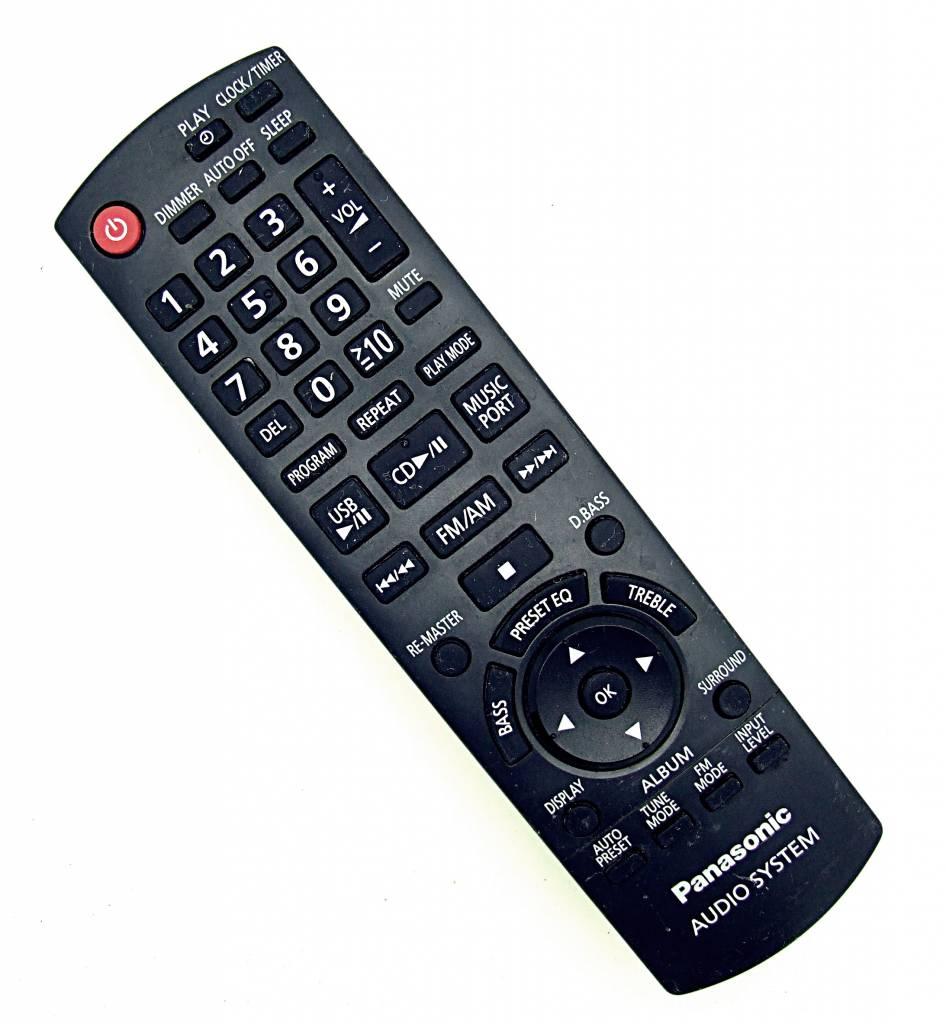 Panasonic Original Panasonic N2QAYB000555 für DVD Systeme: SC-PM02, SC-PM04 remote control