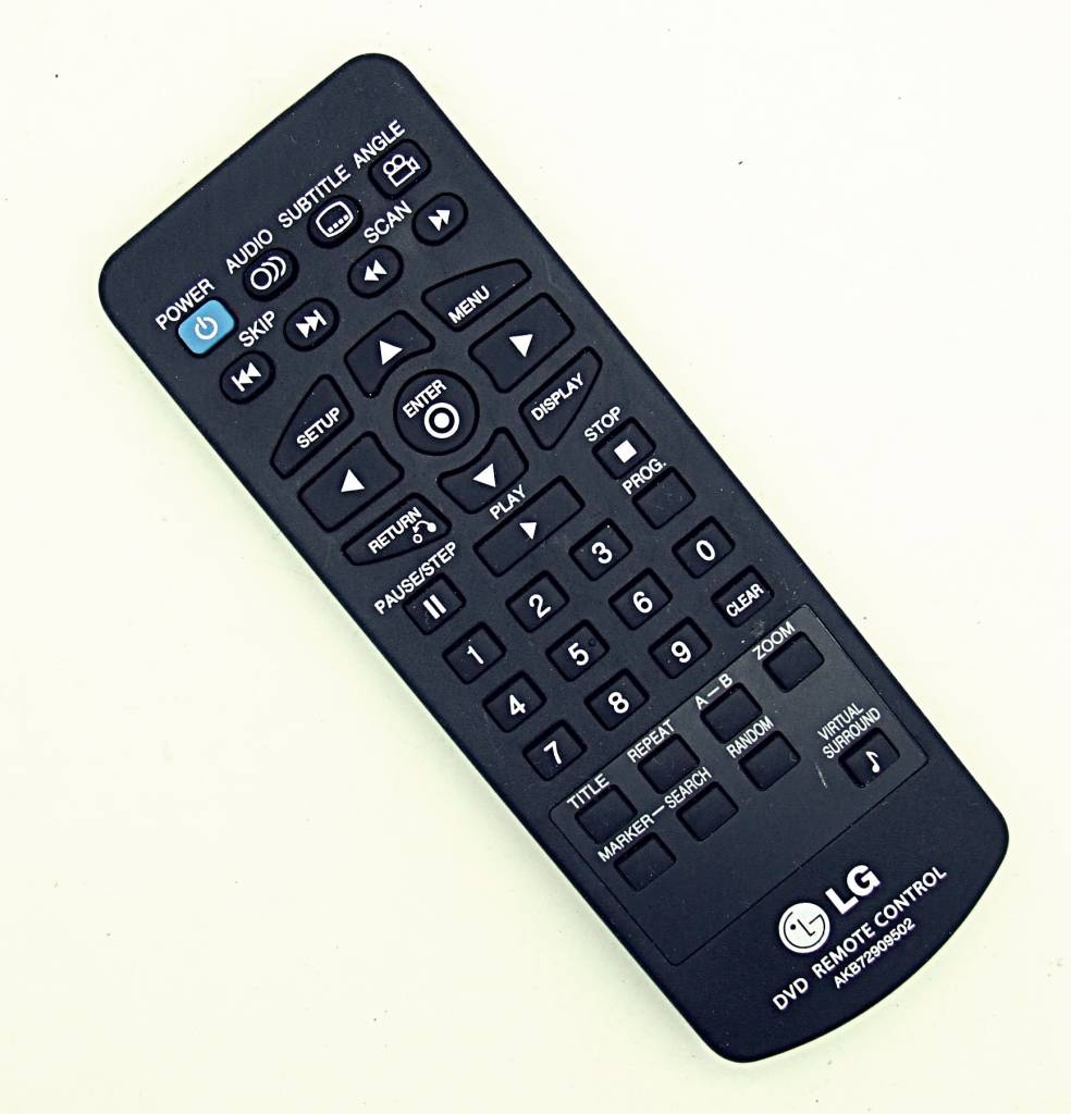 LG Original LG AKB72909502 DVD Player remote control