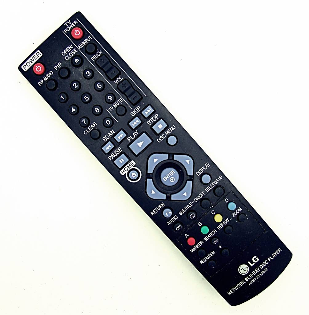 LG Original LG AKB72033902 TV remote control