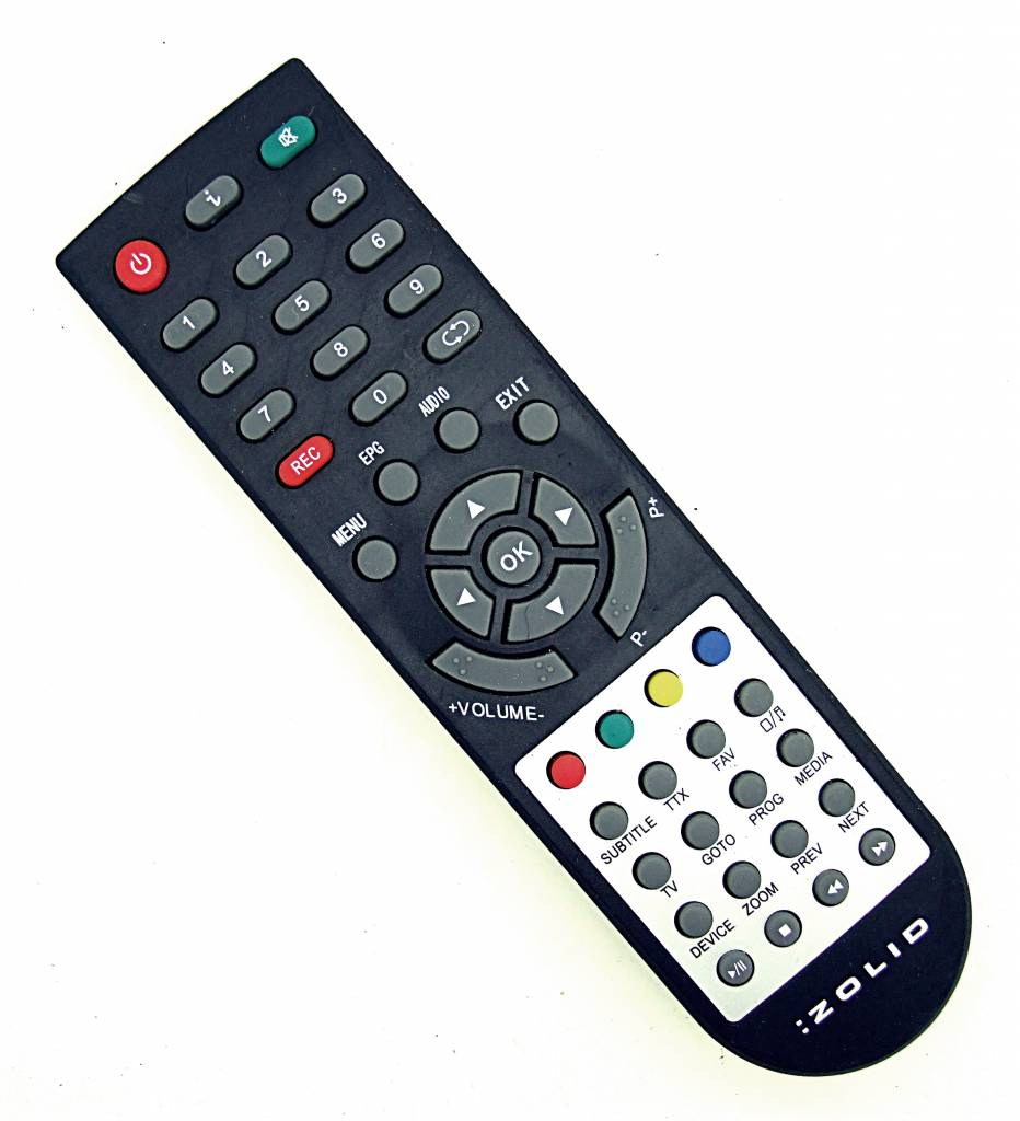 Original Zolid Fernbedienung TV remote control