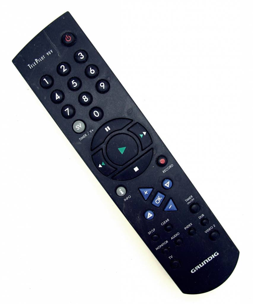 Grundig Original Grundig Fernbedienung Tele Pilot 90V TV, Video remote control