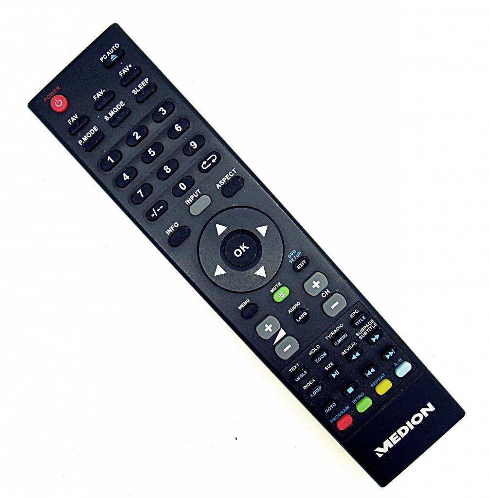 Medion Original Medion Fernbedienung MSN40036283 TV,DVD remote control