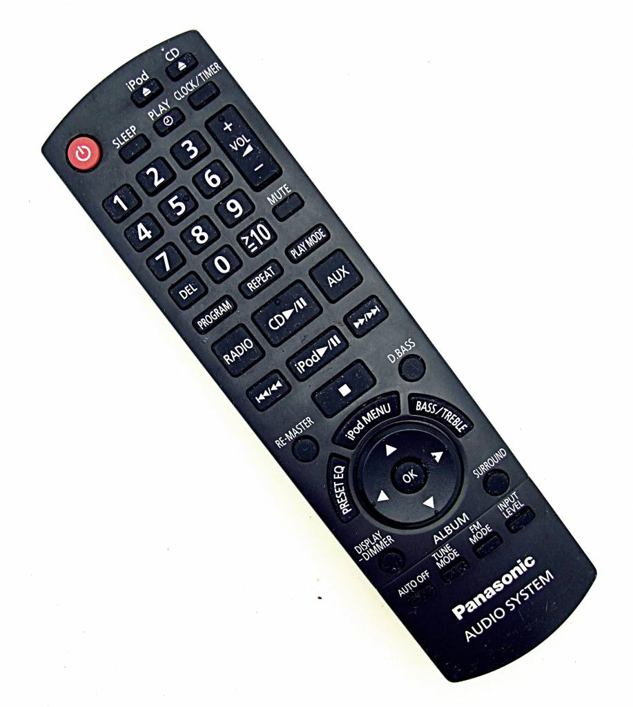 Panasonic Original Panasonic Fernbedienung N2QAYB000522 für DVD-System remote control