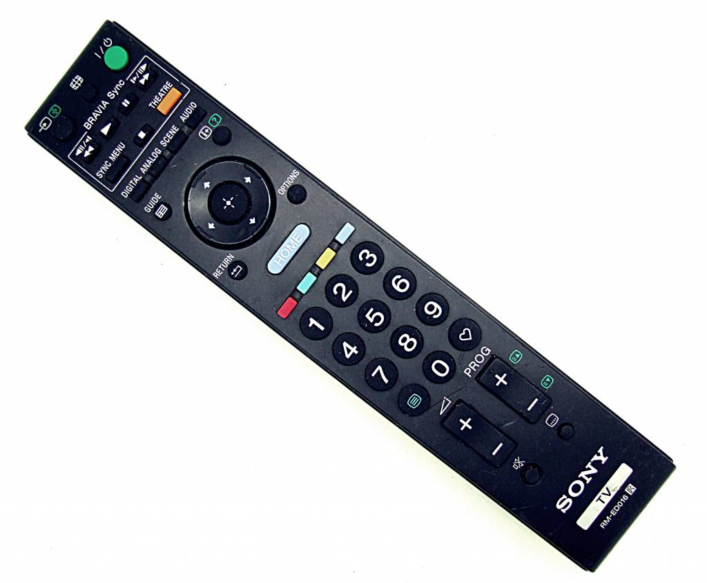 Sony Original Sony TV RM-ED016 remote control
