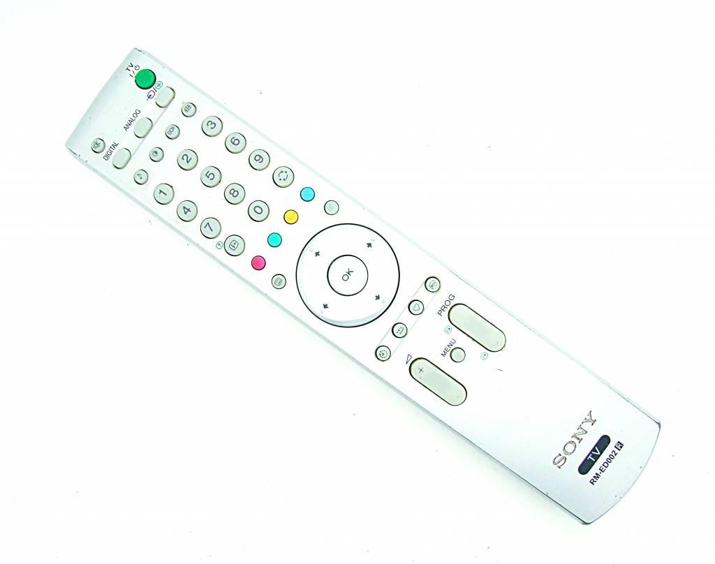 Original Sony RM-ED002 TV remote control