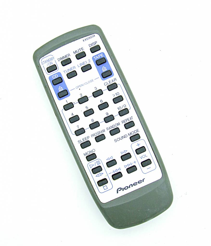 Pioneer Original Pioneer Fernbedienung XXD3034 remote control