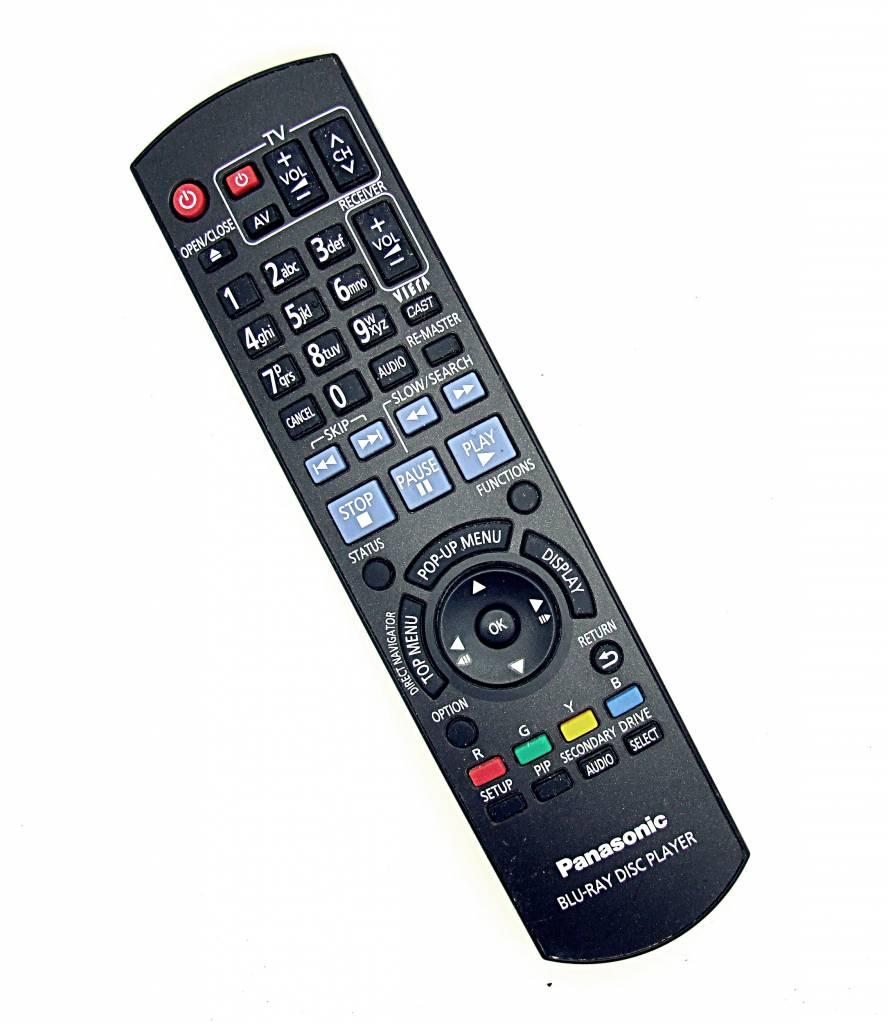 Panasonic Original Panasonic Blu-Ray Disc Player  N2QAYB000380 remote control