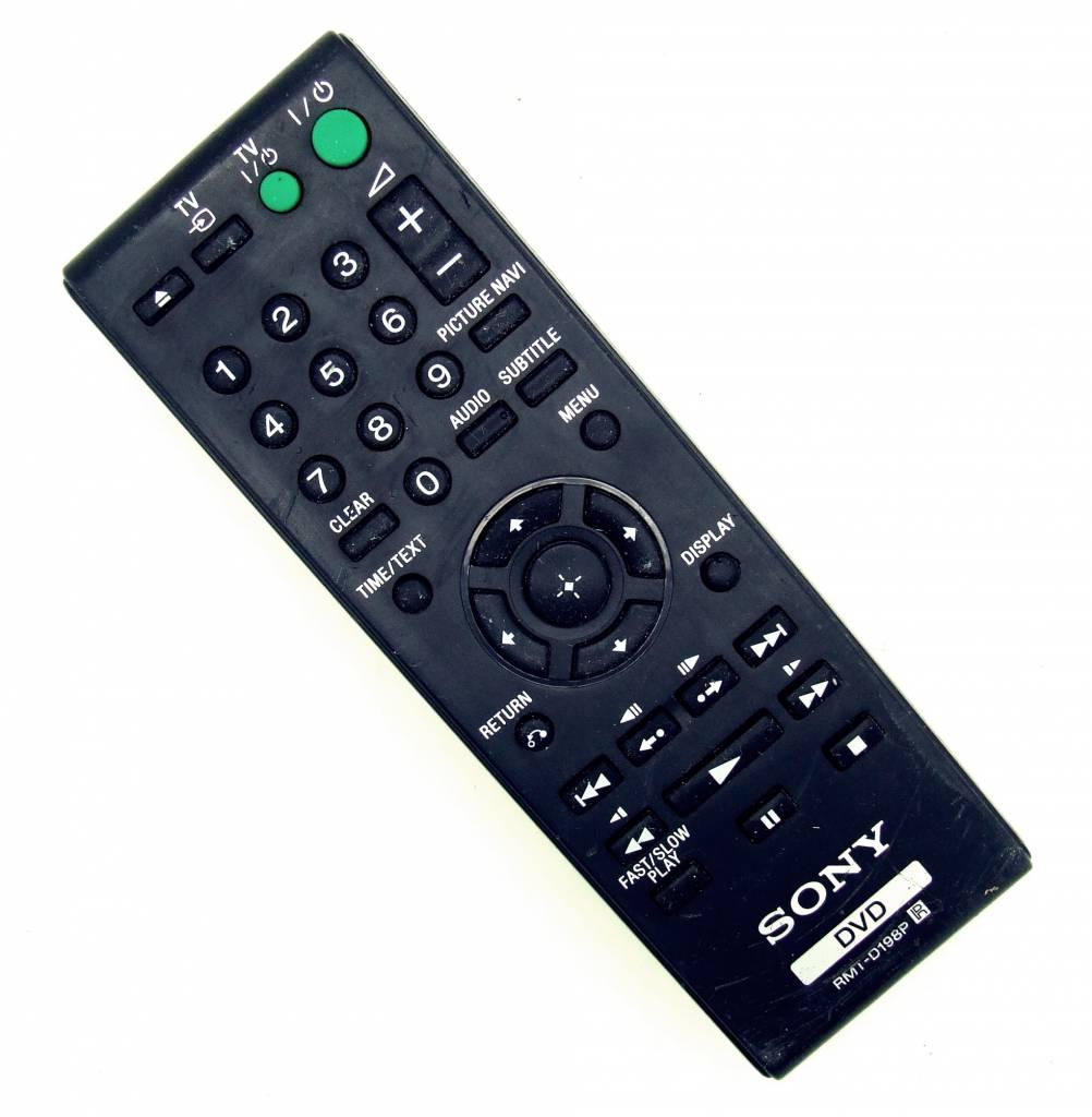 Sony Original Sony RMT-D198P DVD remote control