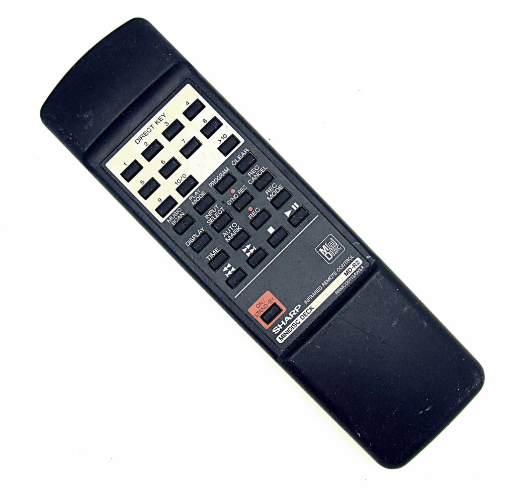 Sharp Original Sharp RRMCG0113AWSA Minidisc MD-R2 remote control