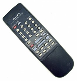 Sharp Original Sharp Fernbedienung G0009AJ VCR remote control