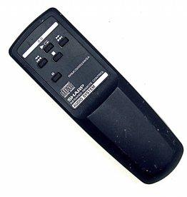 Sharp Original Sharp RRMCG0052AWSA Audio System CD-Player remote control