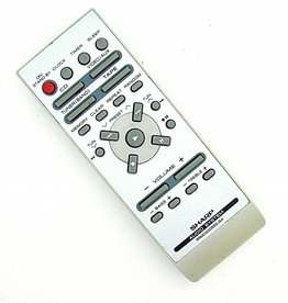 Sharp Original Sharp RRMCG0058SJSA Audio System CD, Tape, Tuner, Video remote control