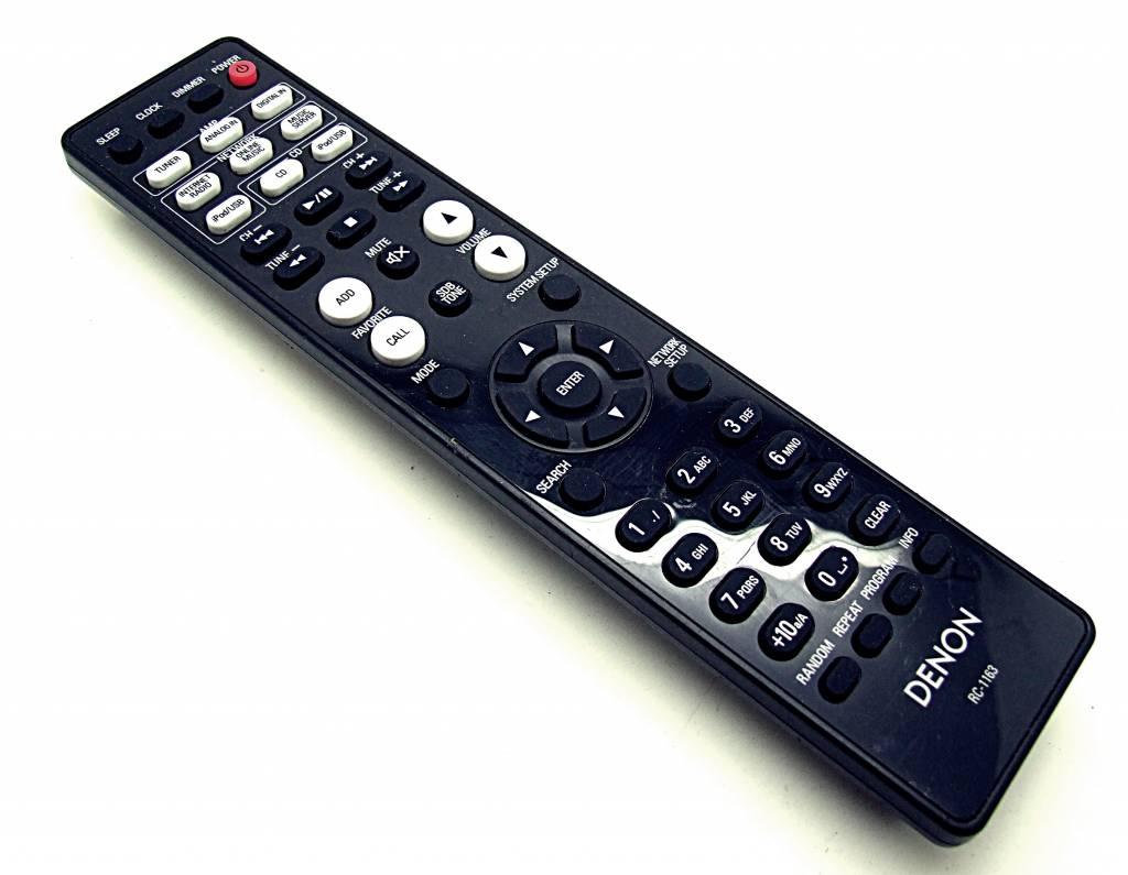 Denon Original Denon Fernbedienung RC-1163 AMP, Network, CD remote control