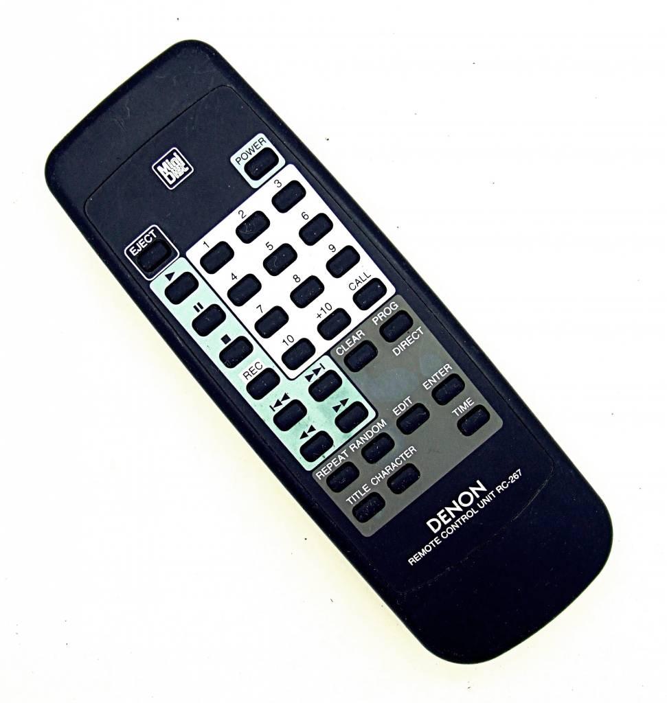 Denon Original Denon Fernbedienung RC-267 Mini Disc remote control