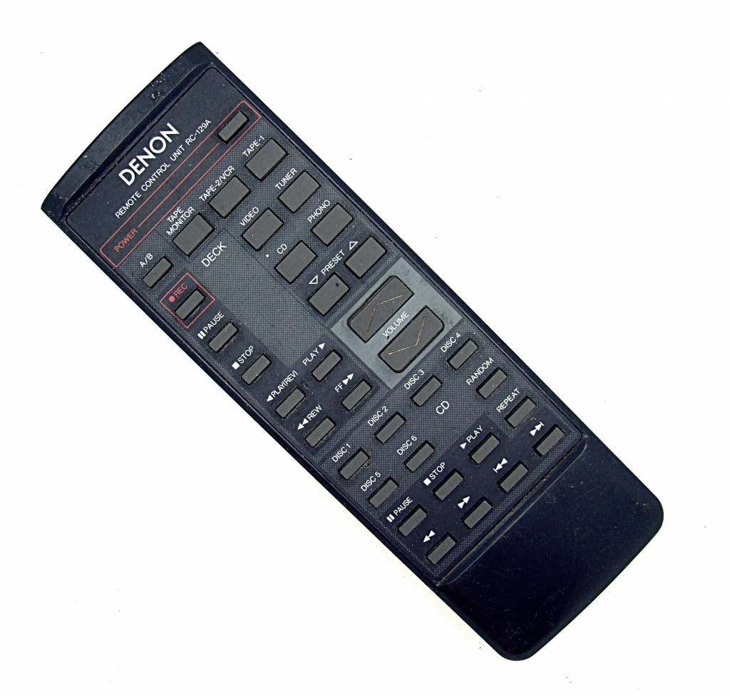 Denon Original Denon RC-129A Tape, CD remote control