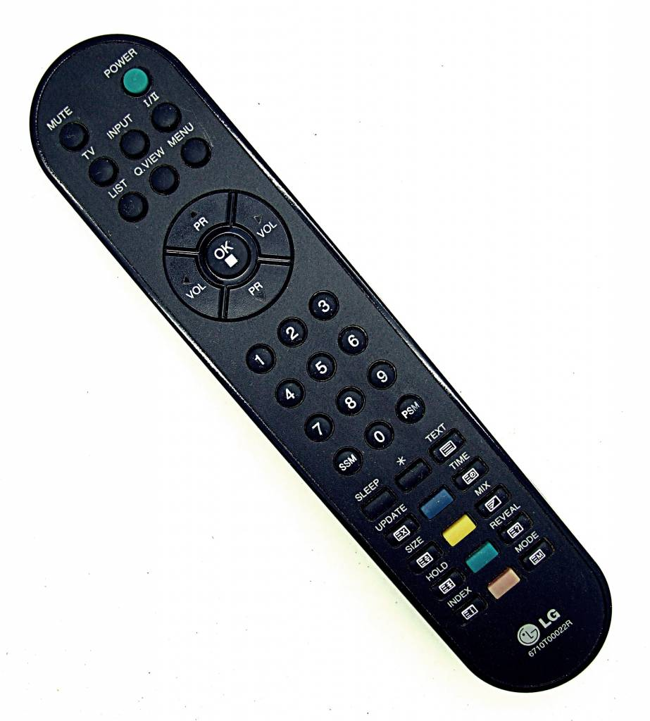 LG Original LG Fernbedienung 6710T00022R TV remote control