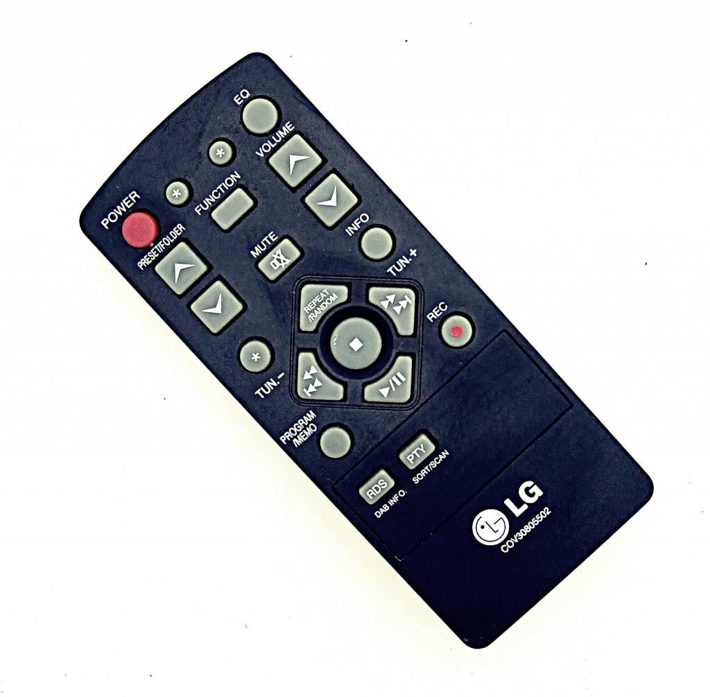 LG Original LG Fernbedienung COV30805502 Micro Hifi-System remote control