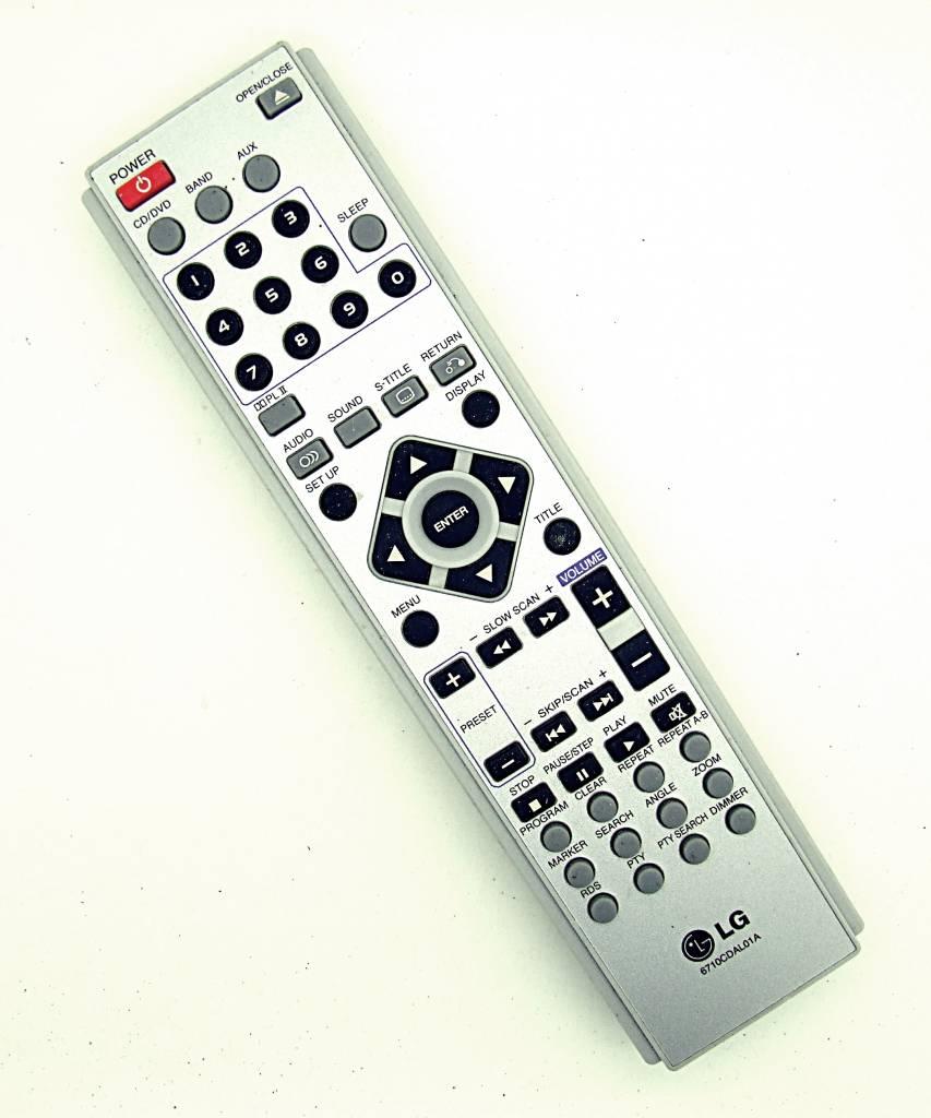 LG Original LG Fernbedienung 6710CDAL01A DVD recorder remote control