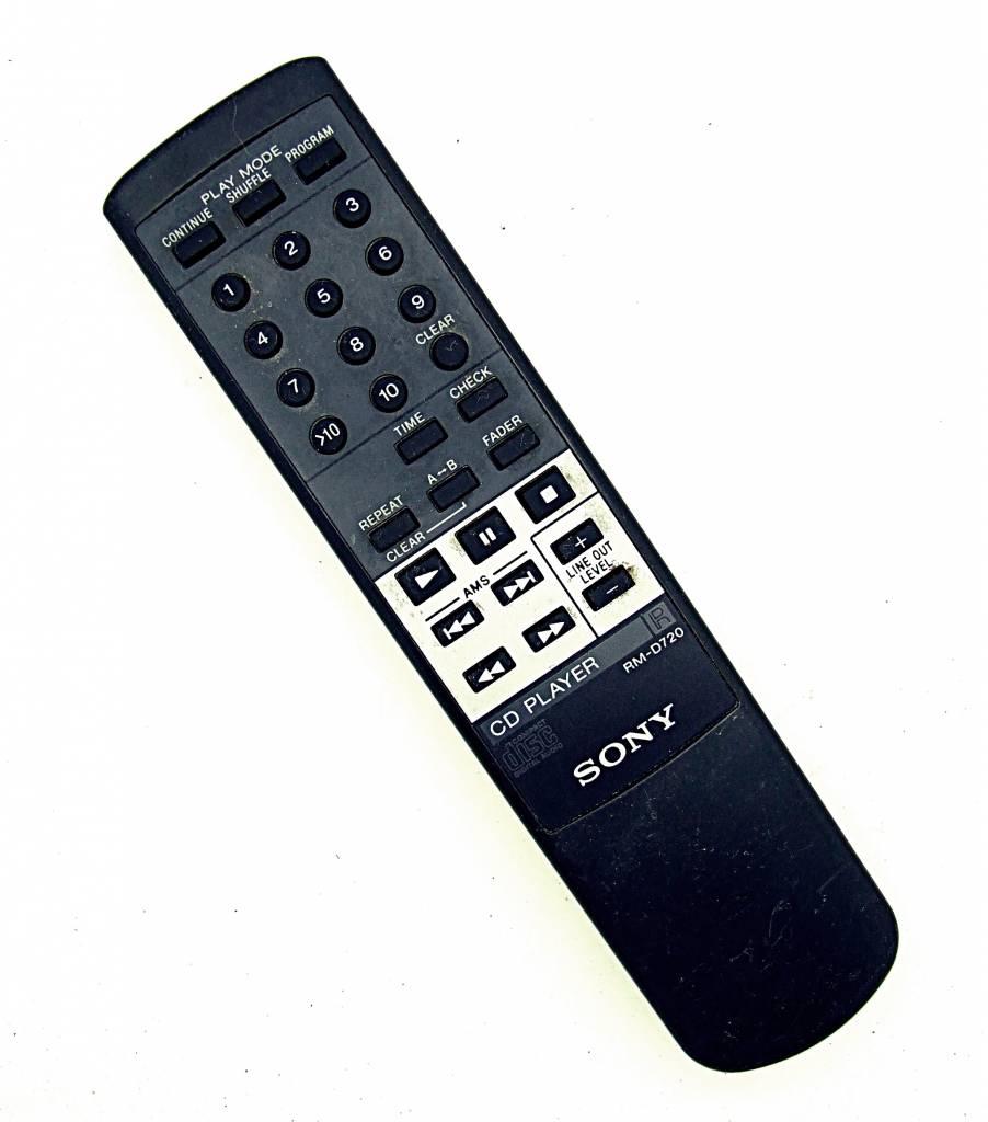 Sony Original Sony Fernbedienung RM-D720 CD-Player remote control