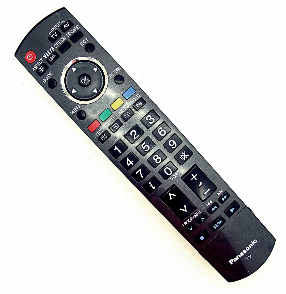 Panasonic Original Panasonic Fernbedienung N2QAYB000181 TV remote control