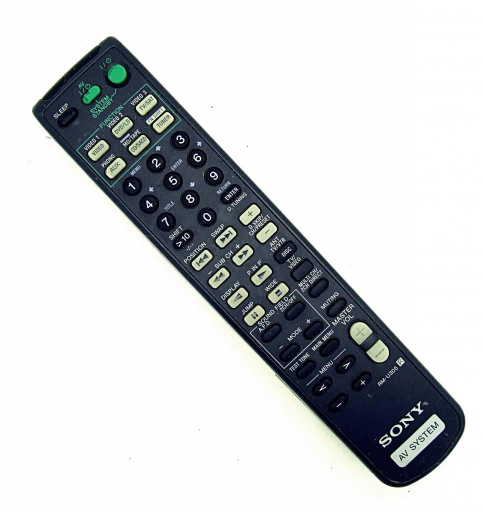 Sony Original Sony RM-U305 AV System remote control